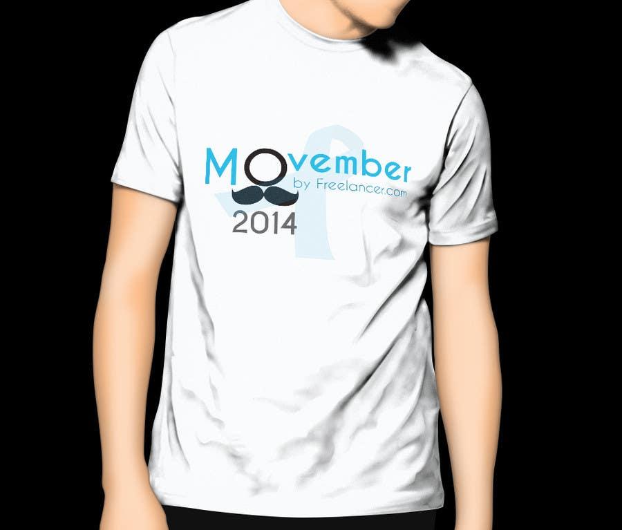 #4 for Design a T-Shirt for MOvember T-shirt Design by umamaheswararao3
