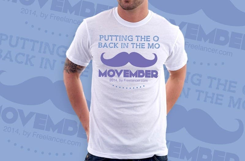 Proposition n°20 du concours Design a T-Shirt for MOvember T-shirt Design