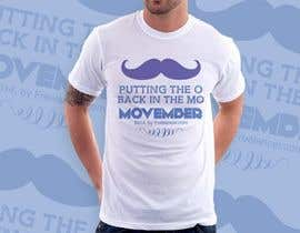 #21 for Design a T-Shirt for MOvember T-shirt Design by nitabe