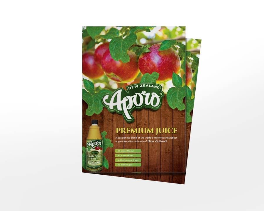 Penyertaan Peraduan #                                        8                                      untuk                                         A4 flyer design for juice