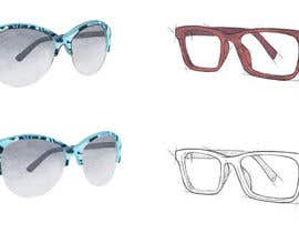 #9 for Fashion Illustrations of Spectacles and Office Equipment for Website by monasama