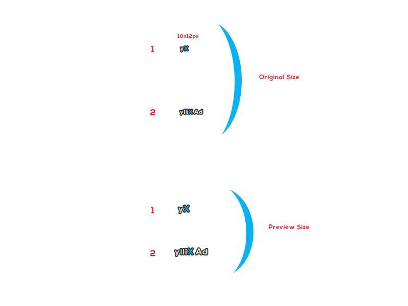 Kilpailutyö #53 kilpailussa Re-design 2 icons