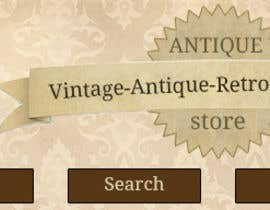 nº 29 pour New Design header for an antique/vintage/retro web site par MariusM90