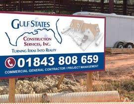 Nro 29 kilpailuun Design a Construction Company's Sign käyttäjältä teAmGrafic