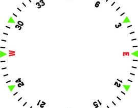 Nro 21 kilpailuun Draw an airplane compass käyttäjältä danesebastian