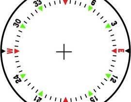 Nro 33 kilpailuun Draw an airplane compass käyttäjältä danesebastian