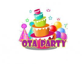 #83 para Logo design for Ota Party de yojellimac