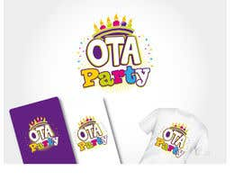 #71 para Logo design for Ota Party de theideascrew