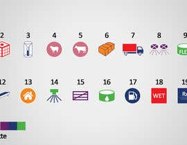 HamdiRejeb tarafından Design  additional small icons which match in with our original icons için no 4