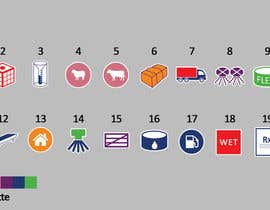 HamdiRejeb tarafından Design  additional small icons which match in with our original icons için no 8