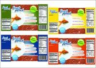 Label Design for Snack Attack - A new Fishfood label için Graphic Design14 No.lu Yarışma Girdisi