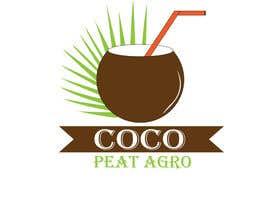 """Nro 12 kilpailuun Design a Logo for """"COCOPEATAGRO"""" käyttäjältä kingr8247"""
