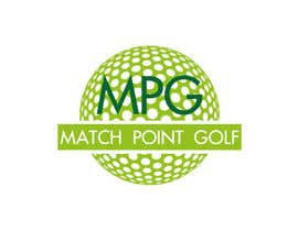 "Arts360 tarafından Design a Logo for ""Match Point Golf"" için no 17"