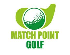 "#89 para Design a Logo for ""Match Point Golf"" por meltorres"