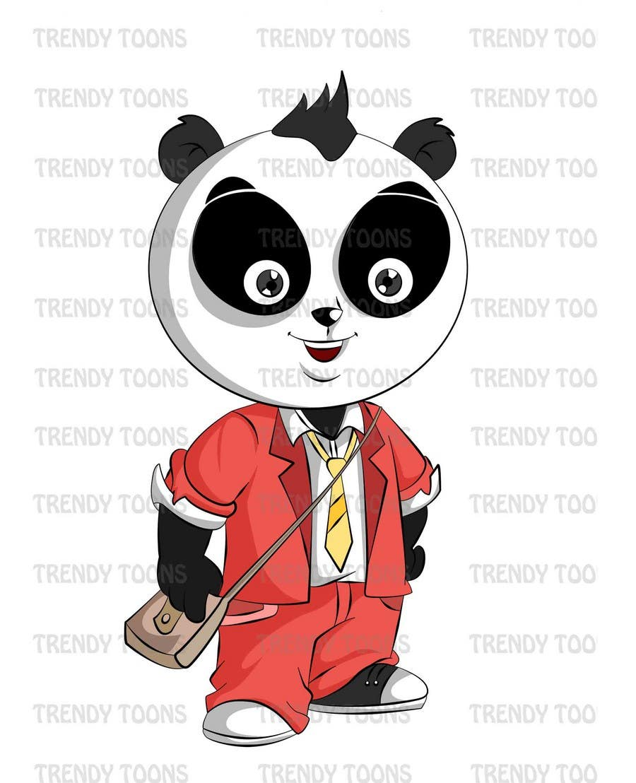 Inscrição nº 5 do Concurso para Illustration Design for Animation illustration for Panda cubs.