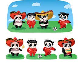 #70 untuk Illustration Design for Animation illustration for Panda cubs. oleh Lisitsa