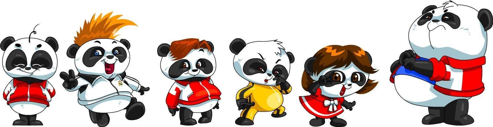 Contest Entry #77 for Illustration Design for Animation illustration for Panda cubs.