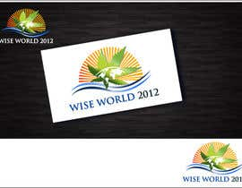 nº 83 pour Logo Design for Wise World 2012 par elgopi