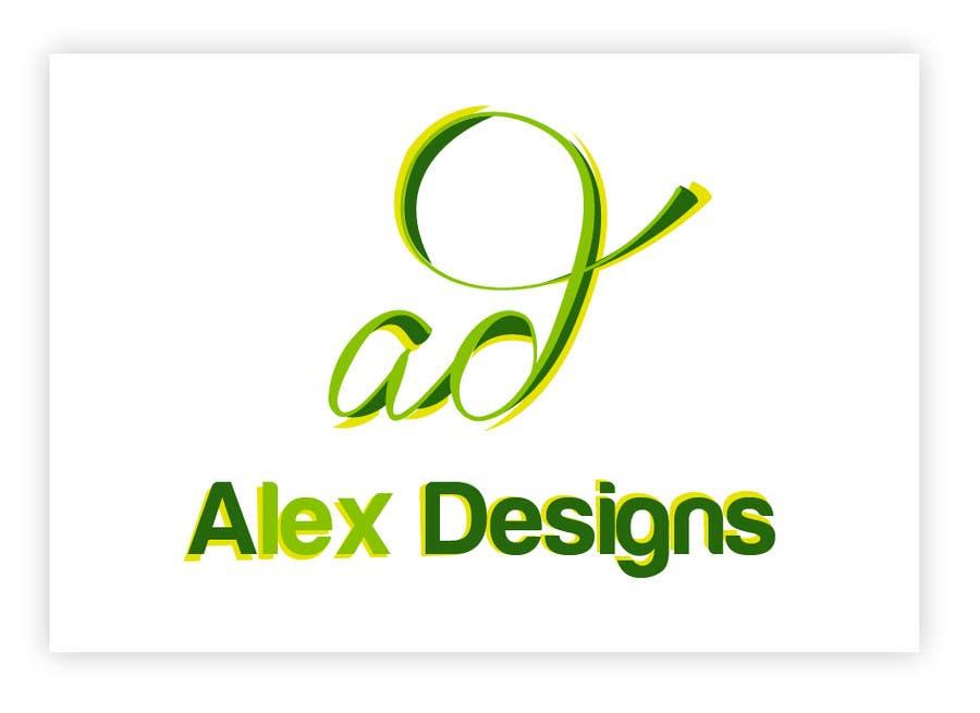 Penyertaan Peraduan #57 untuk Design a Logo for Alex Designs