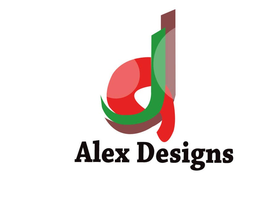 Penyertaan Peraduan #88 untuk Design a Logo for Alex Designs