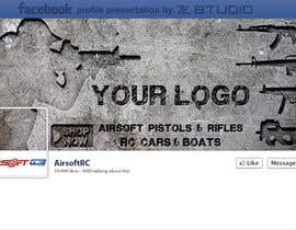 #6 para Design a Facebook landing page for airsoft site por Studio7L