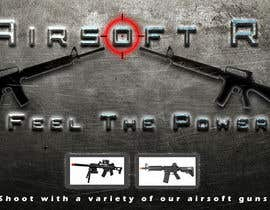 #7 for Design a Facebook landing page for airsoft site by Peet101