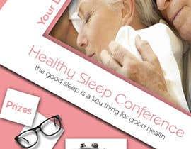 Nro 20 kilpailuun Design a Banner for healty sleep conference käyttäjältä anastradi