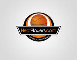 #15 para Design a Logo for HeatPlayers.com por Rajmonty