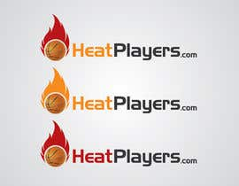 #14 para Design a Logo for HeatPlayers.com por farmanahmed2007
