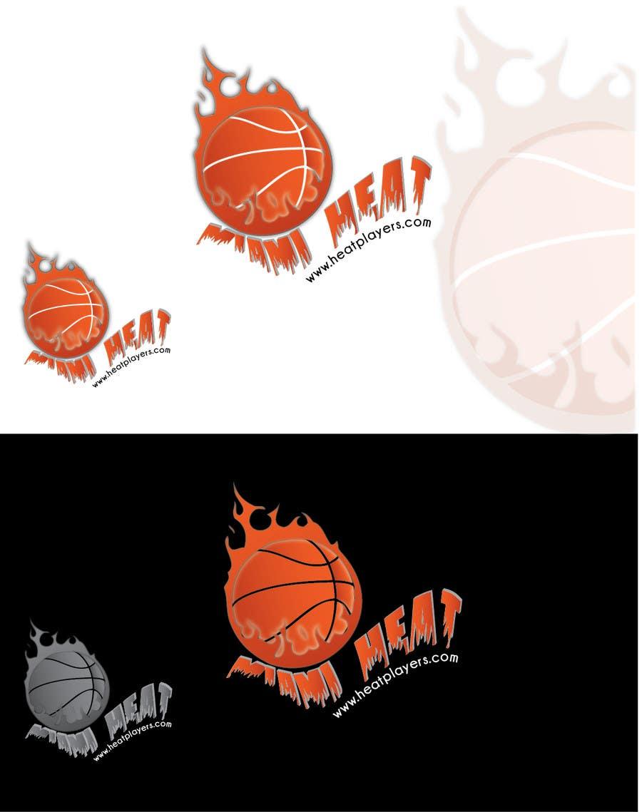 Design a Logo for HeatPlayers.com için 6 numaralı Yarışma Girdisi