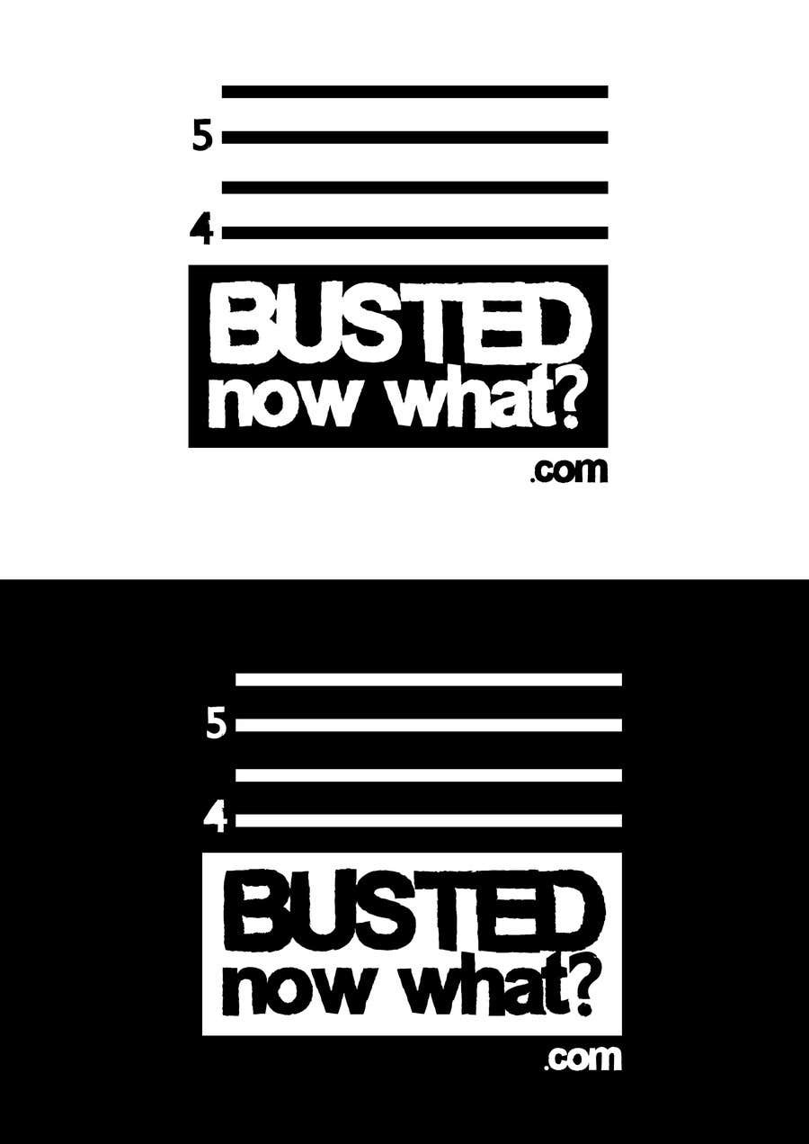 #11 for Design a Logo for BustedNowWhat.com by wehaveanidea