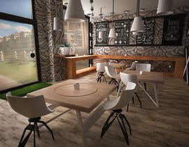 zheniamuradov tarafından 3D MAX render for a small fast food restaurant layout için no 5