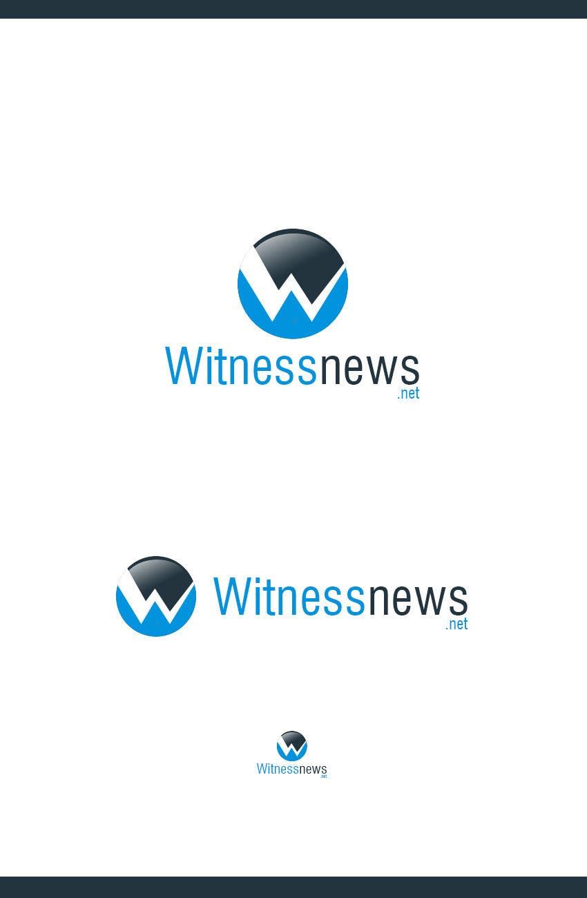 #19 for Design a Logo for witnessnews.net by mega619