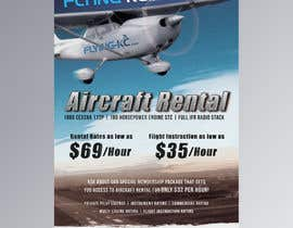 Nro 28 kilpailuun Design flyer for Aircraft Rental käyttäjältä TSolcia