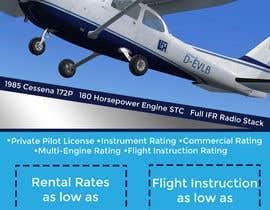 Nro 19 kilpailuun Design flyer for Aircraft Rental käyttäjältä AliBouchard