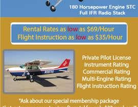 Nro 18 kilpailuun Design flyer for Aircraft Rental käyttäjältä kxremail