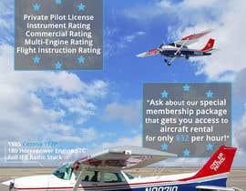 Nro 8 kilpailuun Design flyer for Aircraft Rental käyttäjältä oobqoo