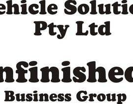 Nro 117 kilpailuun Design a text logo - easy job käyttäjältä david20094