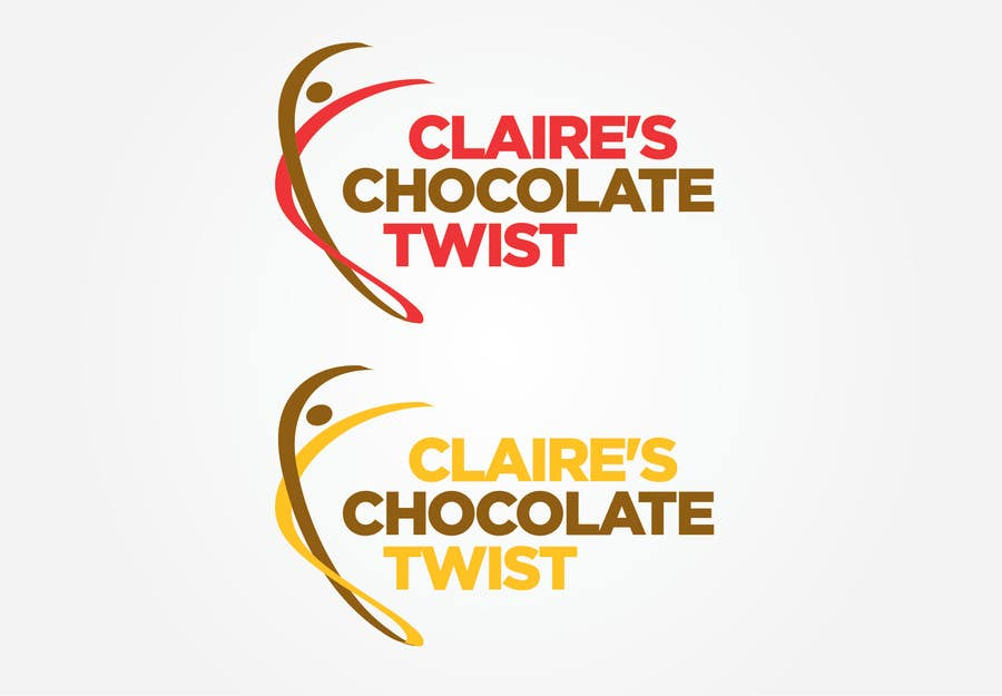 """#40 for Design a Logo for """"Claire's Chocolate Twist"""" by andrefantini"""