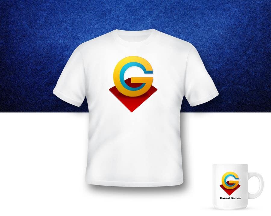 Kilpailutyö #72 kilpailussa Logo Design for CazualGames