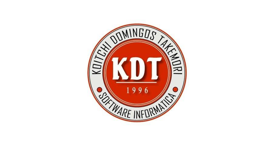 Inscrição nº 41 do Concurso para Projetar um Logo for KDT informatica