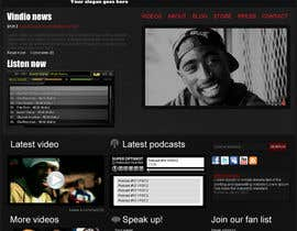 #16 for Website Design for Vindio Records, LLC a record label by vibrasphere