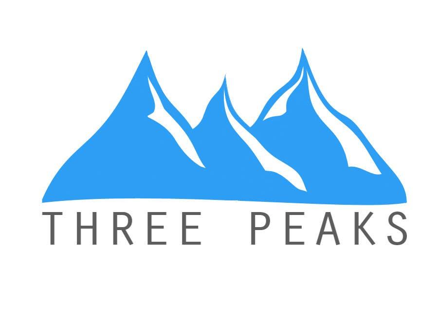 Kilpailutyö #309 kilpailussa Three Peaks Logo Design