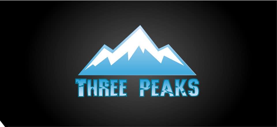 Kilpailutyö #317 kilpailussa Three Peaks Logo Design