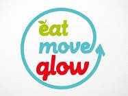 Graphic Design Konkurrenceindlæg #230 for Logo Design for EAT | MOVE | GLOW
