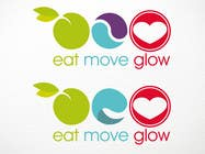 Graphic Design Konkurrenceindlæg #295 for Logo Design for EAT | MOVE | GLOW