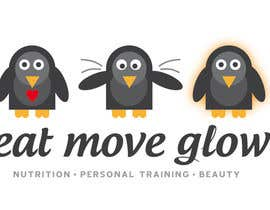 #312 para Logo Design for EAT | MOVE | GLOW por JoGraphicDesign