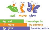 Graphic Design Konkurrenceindlæg #357 for Logo Design for EAT | MOVE | GLOW
