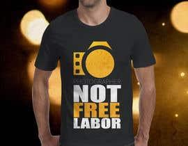 Abiraal tarafından Design a Logo T-shirt for Photographers Movement için no 3
