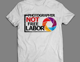 #34 for Design a Logo T-shirt for Photographers Movement by areztoon